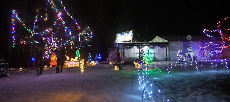 Takiego widoku szukajcie we wsi Długa. To Grota Świąteczna Teresy Barszcz-Ward