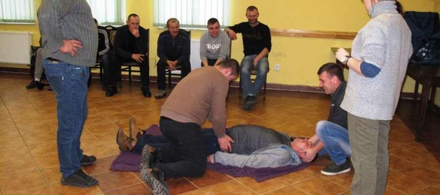 Szkolenie medyczne strażaków