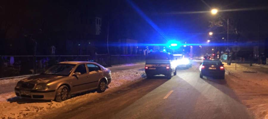 Do potrącenia doszło na ulicy Wyszyńskiego w Iławie, przy przejeździe kolejowym