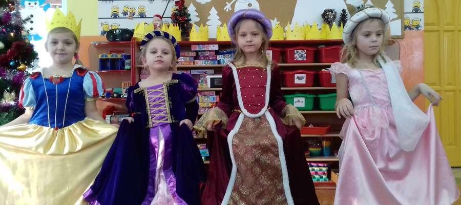 Na zakończenie zajęć o zamku był bal i księżniczki