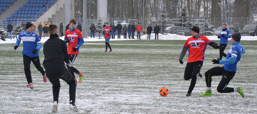 Mateusz Dampc strzelił dwa gole w sparingu z Lechem Rypin