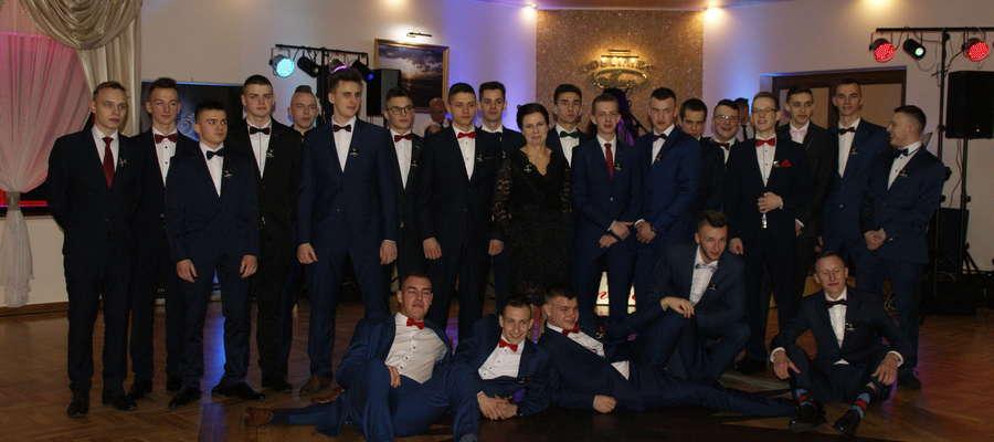 Studniówka 2019 w ZSP w Przasnyszu