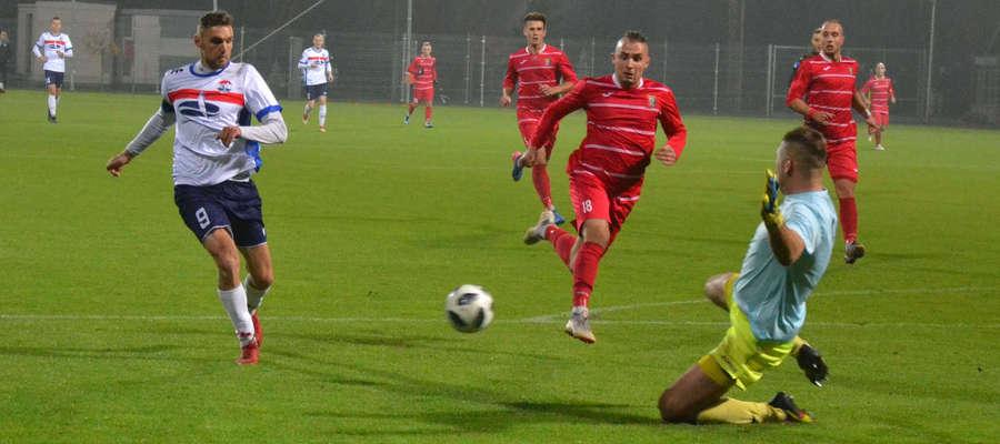 Wiosną w Sokole nie zagra Mateusz Broź (z lewej), który rozwiązał kontrakt z klubem