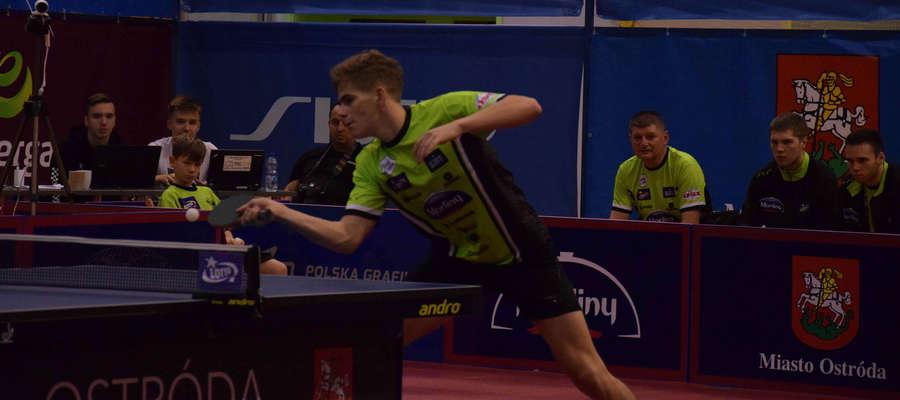 Marco Golla zdobył punkt decydujący o zwycięstwie Morlin Ostróda