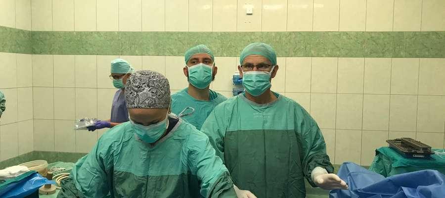 Nowatorska operacja urologiczna w Szpitalu Giżyckim