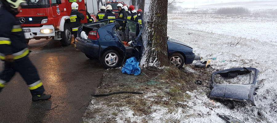 Dramatyczny wypadek w Karbowie