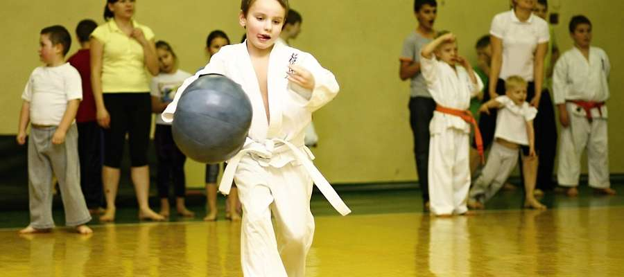 Zimowa Akademia Karate ma już długą tradycję. Tu uczestnik zajęć w 2012 roku