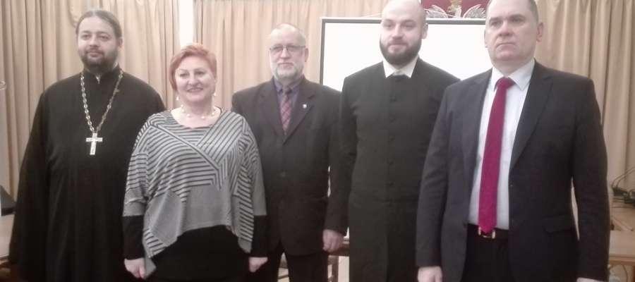 """Konferencja z cyklu """"Spojrzenie kościoła…"""" w Ornecie"""