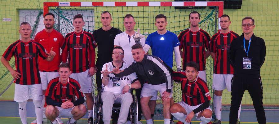 Cel turnieju jest jeden, pomoc dla Marcina Breńskiego, dziennikarza z Mławy