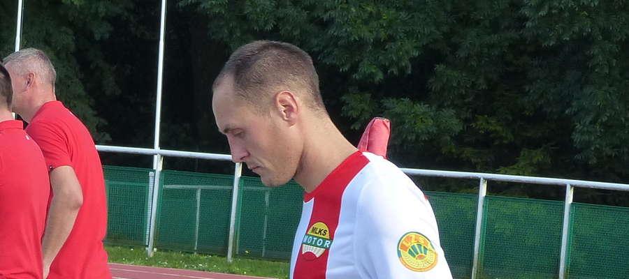 Marcin Karczewski, tu jeszcze w barwach Motoru Lubawa