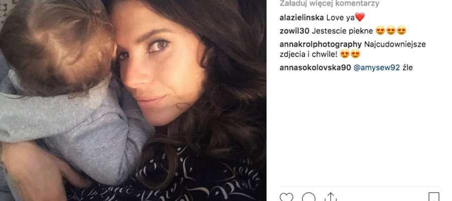 Weronika Rosati chętnie dzieli się rodzinnymi zdjęciami na Instagramie