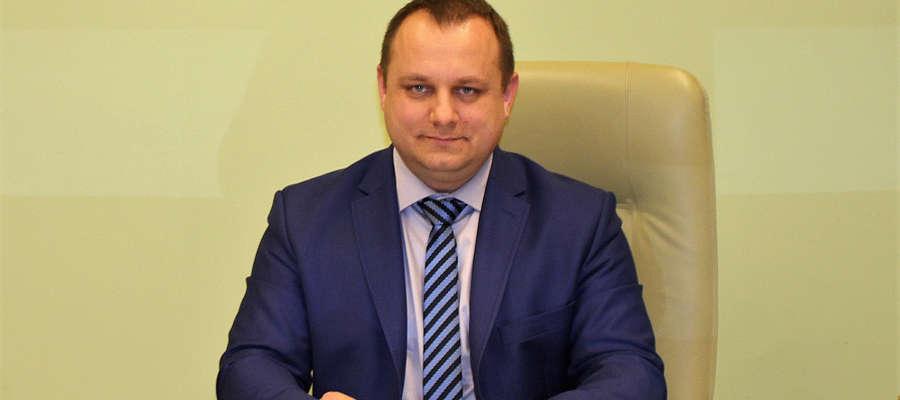 fot. 0 Marcin Paliński, starosta Nidzicy