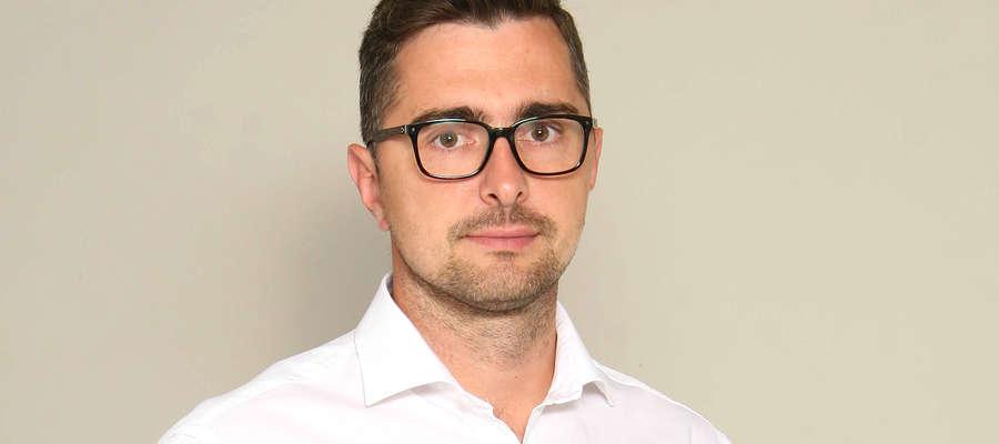Tomasz Więcek, dziennikarz, sekretarz redakcji