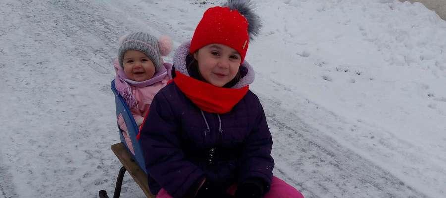 Zimowy Brzdąc: Amelia i Zuzanna Żaboklickie