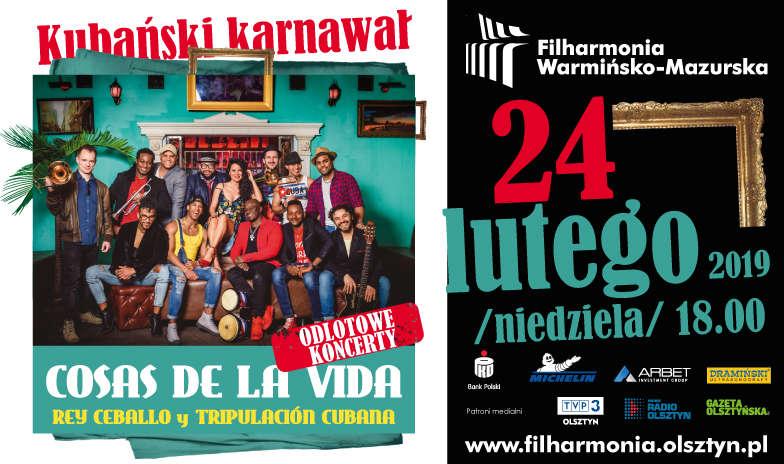Odlotowe koncerty - Kubański karnawał - Zespół Rey Ceballo & Tripulacion Cubana - full image