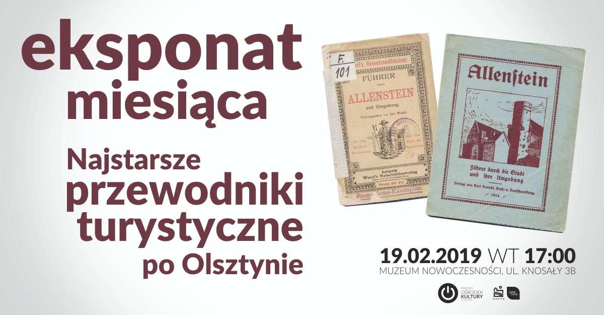 Eksponat miesiąca: Najstarsze przewodniki turystyczne po Olsztynie - full image