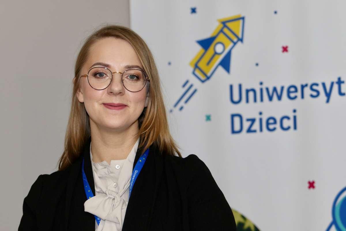 Magdalena Drozdowicz, dyrektor Uniwersytetu Dzieci w Olsztynie