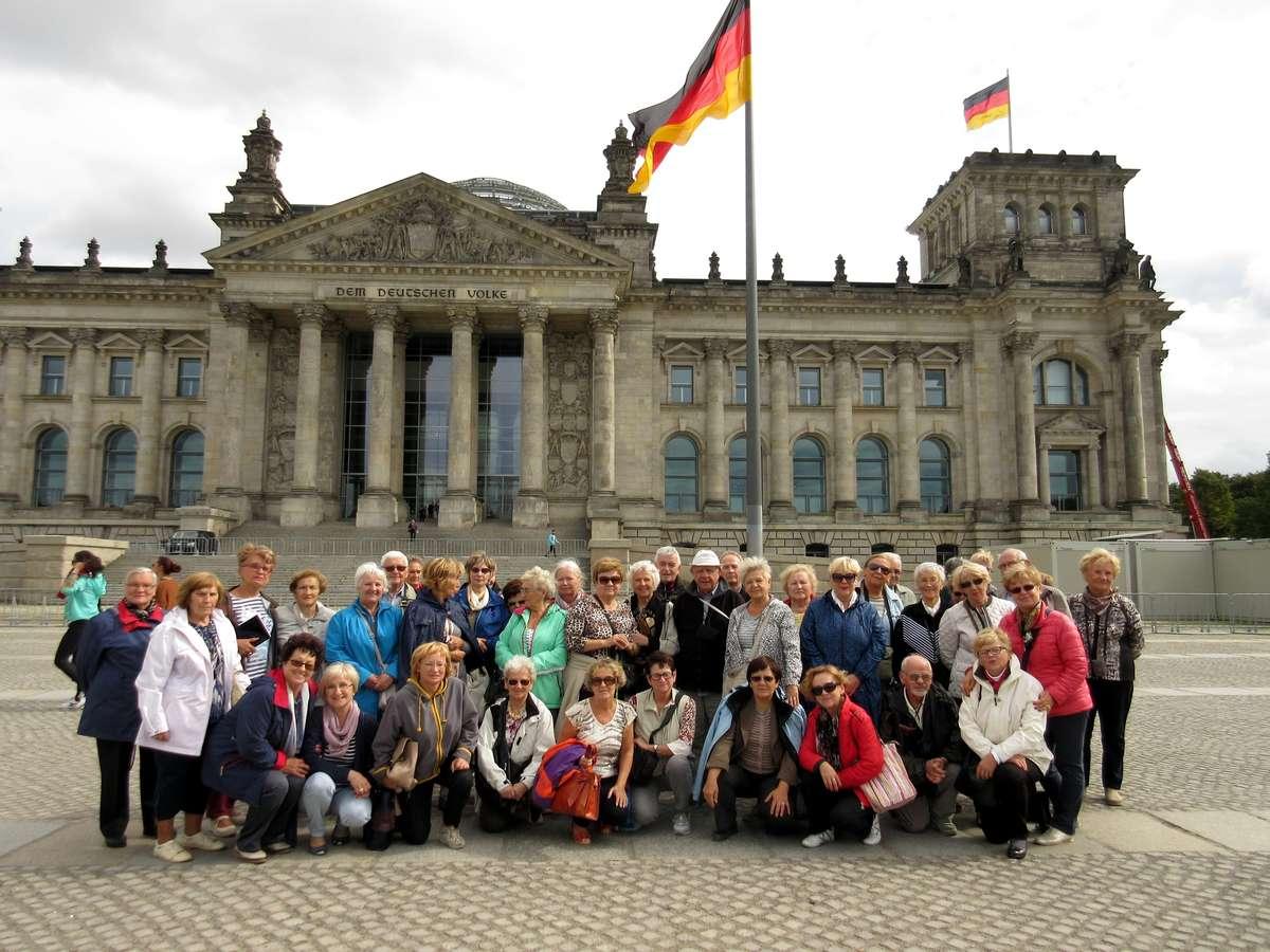 Nauczyciele podróżują nie tylko po kraju, ale czasem udaje im się wyjechać np. do Berlina.