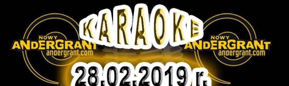 Karaoke w AnderGrancie