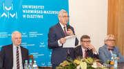 Jarosław Gowin na UWM w Olsztynie. Wicepremier rozmawiał z naukowcami o ustawie 2.0