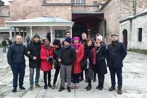 Wyjazd w ramach projektu - nauczyciele SP Staświny w Stambule