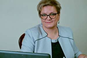Teresa Chrostowska, wójt gminy Purda