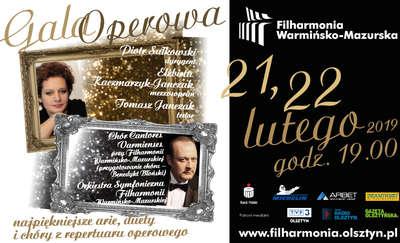 Gala Operowa – arie, duety i chóry
