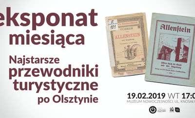 Eksponat miesiąca: Najstarsze przewodniki turystyczne po Olsztynie
