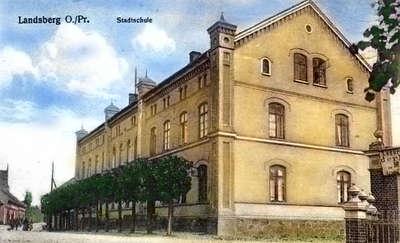 Szkoła miejska w Landsbergu
