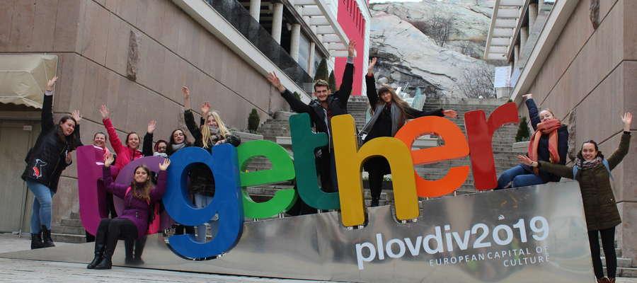 W Plovidiv - Europejskiej stolicy kultury.