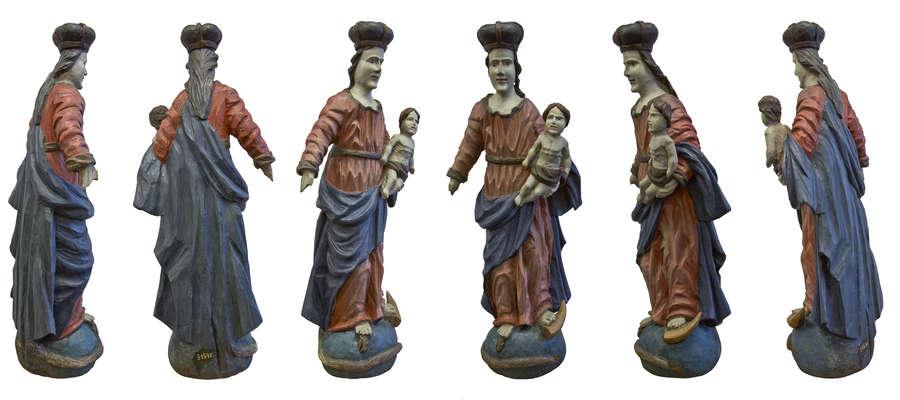 Święci z warmińskich kapliczek