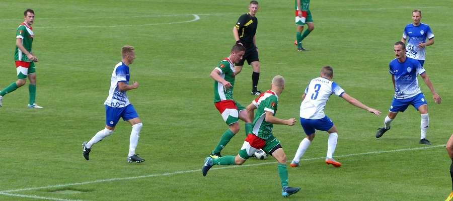W pierwszym meczu sezonu 2018/2019 na Stadionie Łazienkowskim w Lubawie Motor pokonał Drwęcę 3:1
