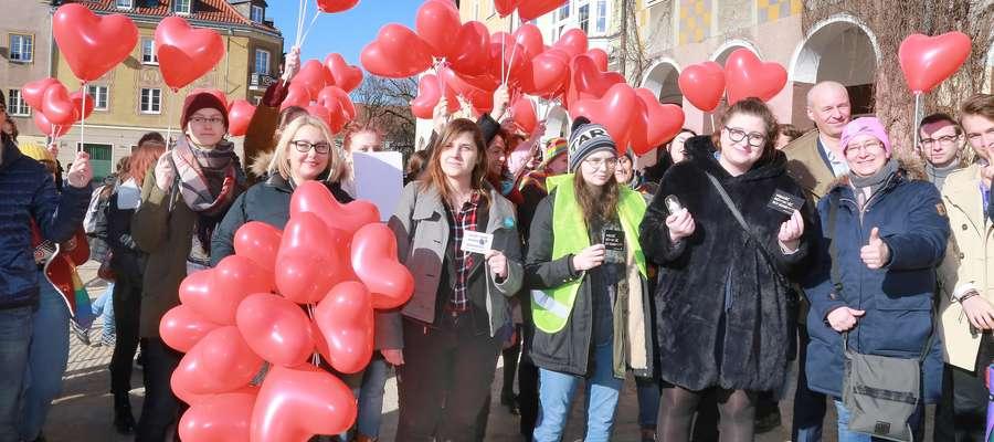 Happening marsz równości