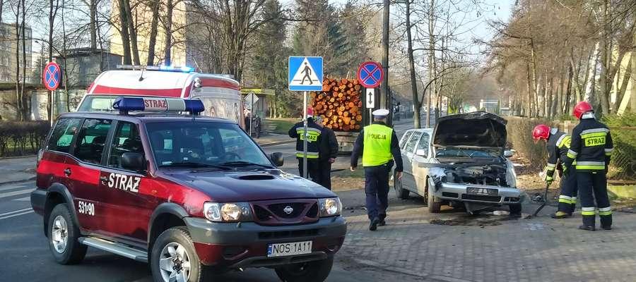 Ruch na ulicy Jagiełły jest utrudniony