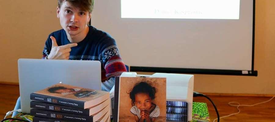Daniel Kasprowicz napisał książkę inspirowaną swoimi misjami na Madagaskarze