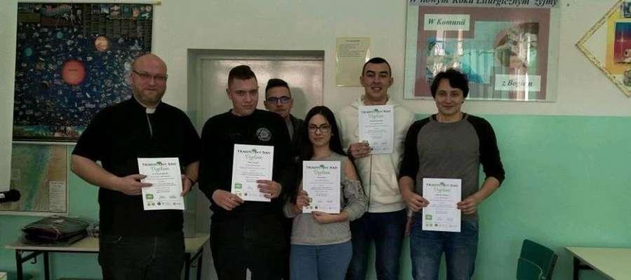 Nagrodzeni uczniowie ZSZ w Iłowie - Osadzie