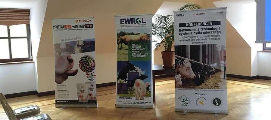 """Konferencja pt. """"Nowoczesna technologia żywienia bydła mlecznego z wykorzystaniem rodzimych zasobów paszowych jako odpowiedź na aktualne potrzeby rynku"""""""