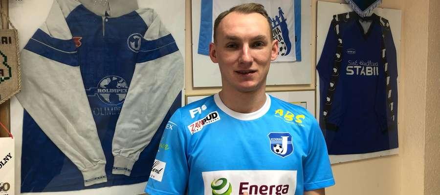Arkadiusz Kuciński (piłkarz Jezioraka Iława) zajął pierwsze miejsce w naszym sportowym plebiscycie
