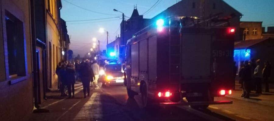 Do zdarzenia doszło na ulicy Grudziądzkiej w Biskupcu Pomorskim
