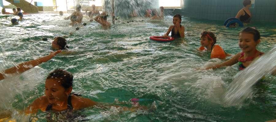 Miło było poszaleć w wodzie