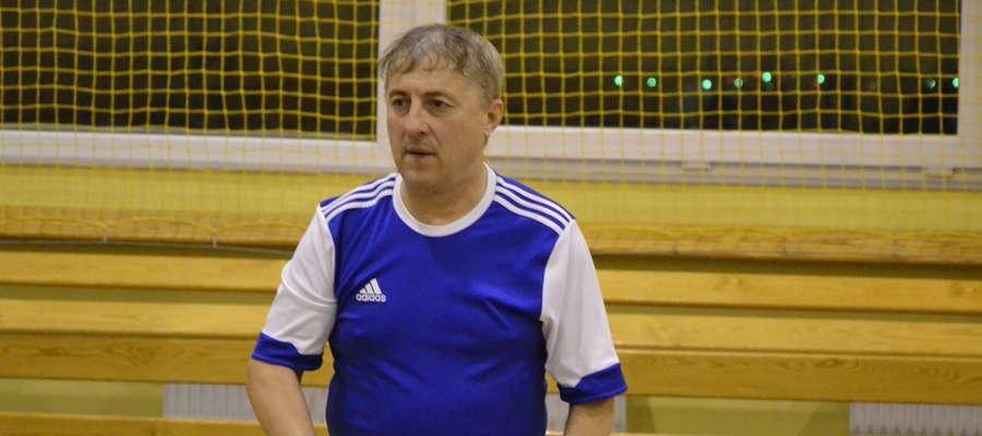 Będący na trzecim miejscu klasyfikacji generalnej Stanisław Wiśniewski z Brodnicy