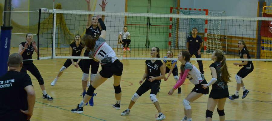 Juniorki SMS Ostróda przegrały wszystkie spotkania w ćwierćfinale mistrzostw Polski