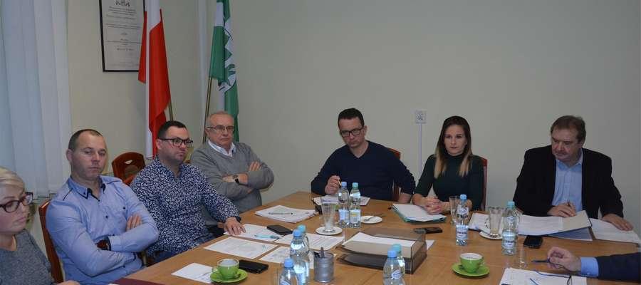 Posiedzenie komisji zdrowia i oświaty Rady Powiatu w Olecku