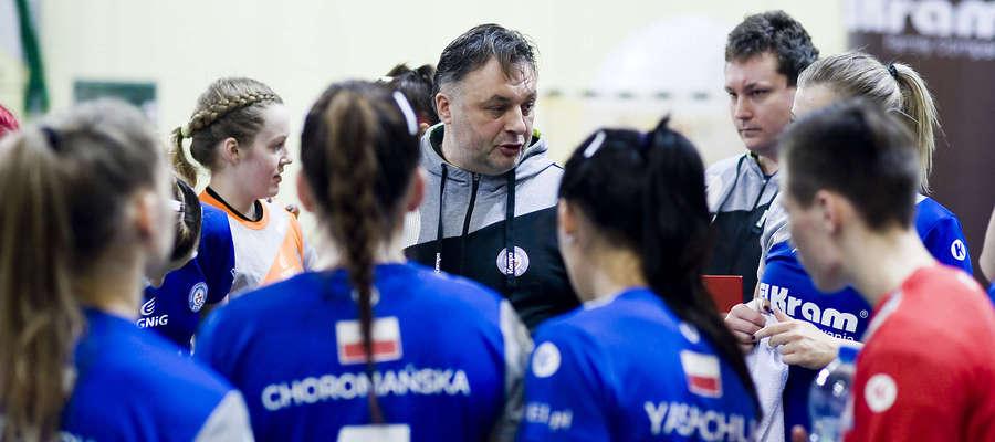 Andrzej Niewrzawa, trener Startu Elbląg