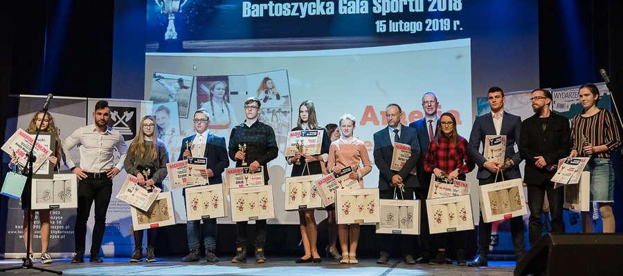 Laureaci poprzedniego głosowania na najpopularniejszych sportowców Bartoszyc