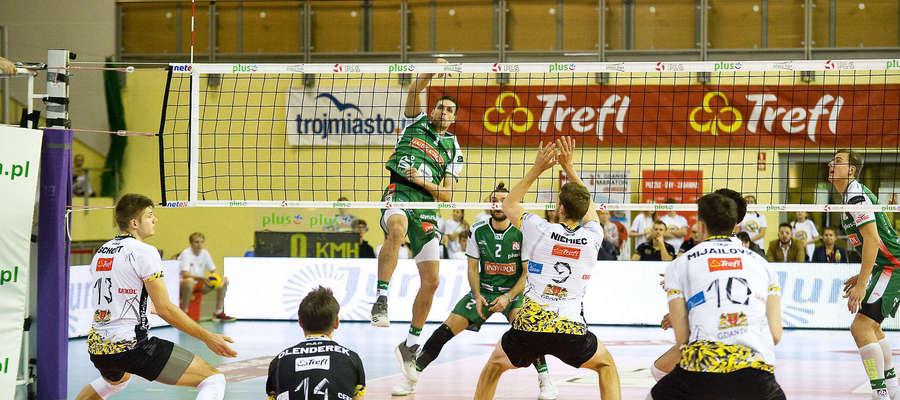 Indykpol AZS przegrał w Elblągu z Treflem Gdańsk 2:3