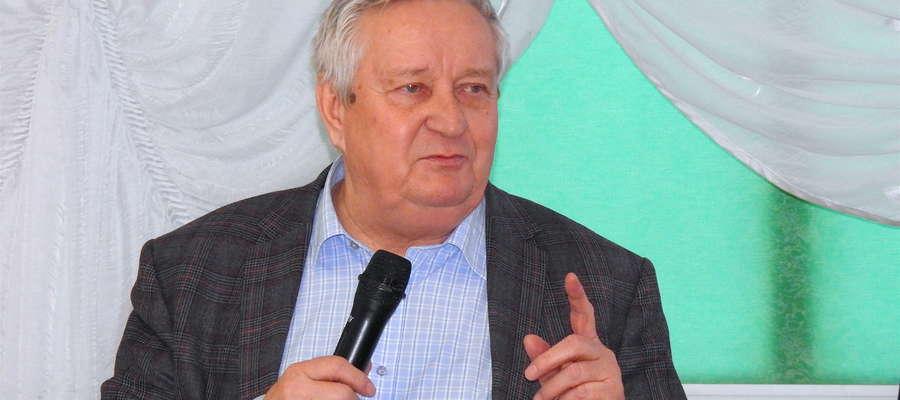 """Kazimierz Kordecki, przewodniczący Ekologicznego Związku Gmin """"Działdowszczyzna"""""""