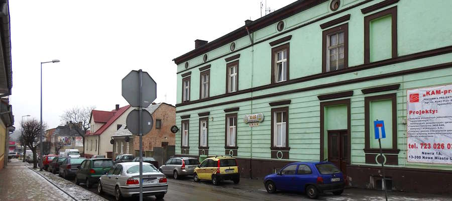 Ulica Kościuszki w Nowym mieście