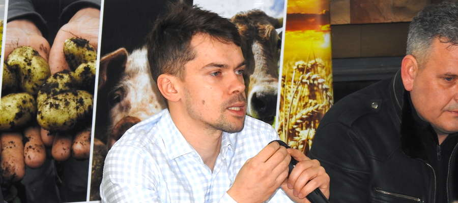 Michał Kołodziejczak z AgroUnii