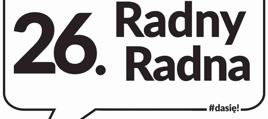 "Logo akcji ""26 Radny"""